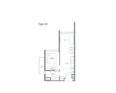 fourth-avenue-residences-floorplan-1bedroom-a4