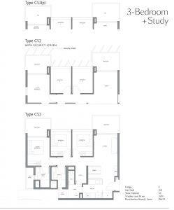 fourth-avenue-residences-floorplan-3bedroom-study-cs2