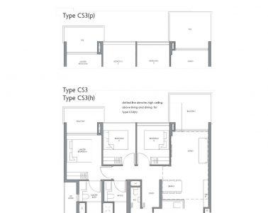 fourth-avenue-residences-floorplan-3bedroom-study-cs3