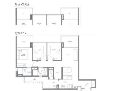 fourth-avenue-residences-floorplan-3bedroom-study-cs5