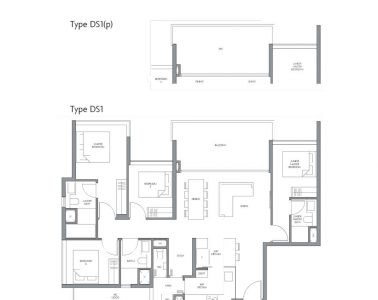 fourth-avenue-residences-floorplan-4bedroom-study-ds1