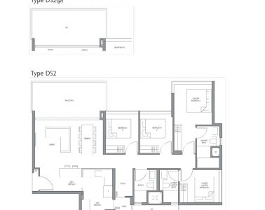 fourth-avenue-residences-floorplan-4bedroom-study-ds2