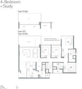 fourth-avenue-residences-floorplan-4bedroom-study-ds3